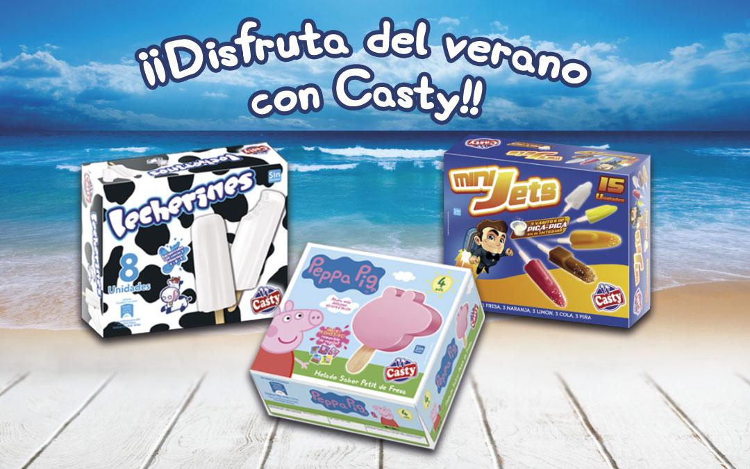 ¡DESCUBRE LA GAMA INFANTIL CASTY!