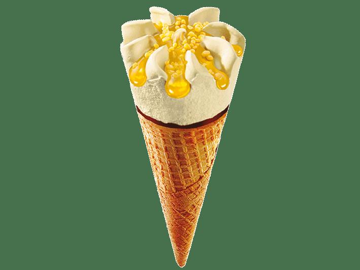 cono-crujiente-con-helado-de-yogurt-limón