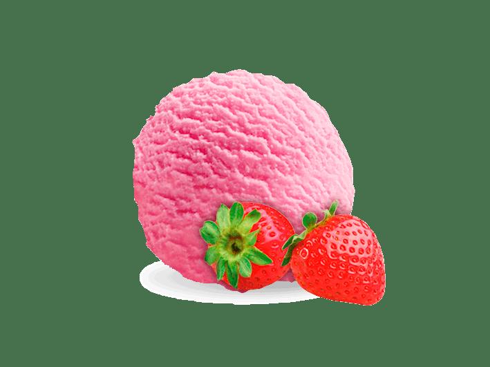 helado-fresa