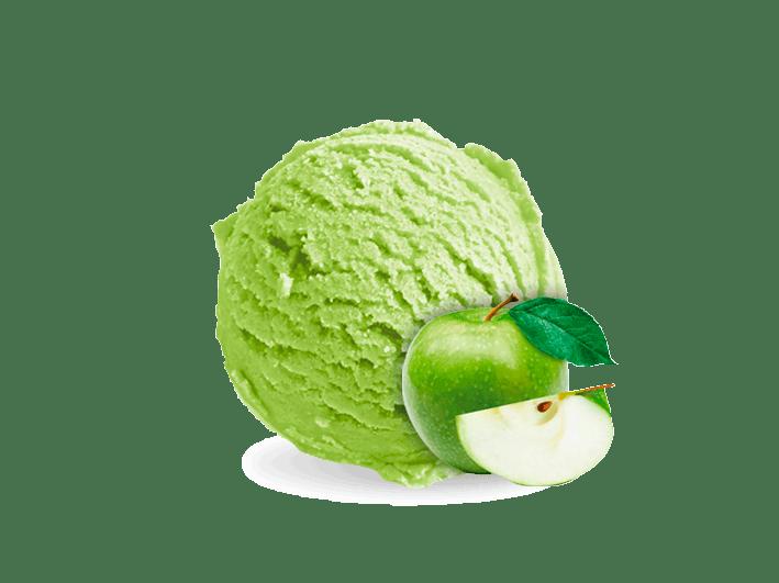 helado-manzana