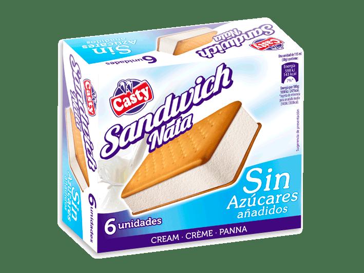sándwich-nata-sin-azúcar